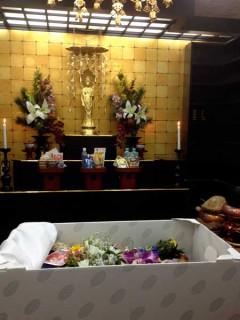 葬儀室ですよー