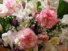最期のお話を書いたすぐ後に頂いたお花です